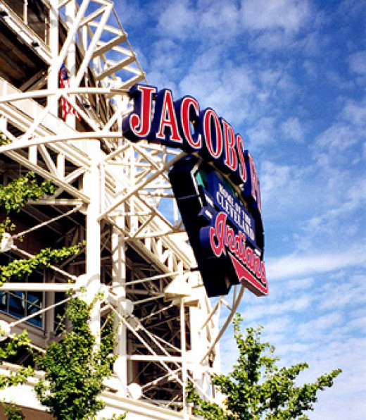 Competing venue: Jacobs Field (now Progressive Field), Home of the Cleveland Indians