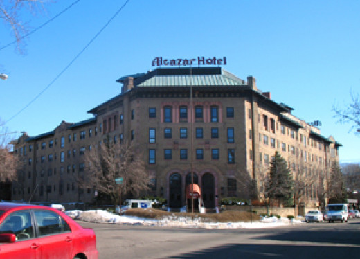 The former Alcazar Hotel, Cleveland Heights, Ohio
