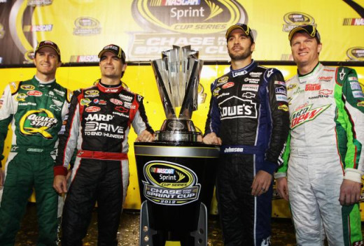 Which one of these drivers would leave to make room for Chase Elliott? The four time champion? Five time?