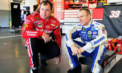 Martin and Ryan Newman may be short-term teammates for the remainder of 2013 at SHR