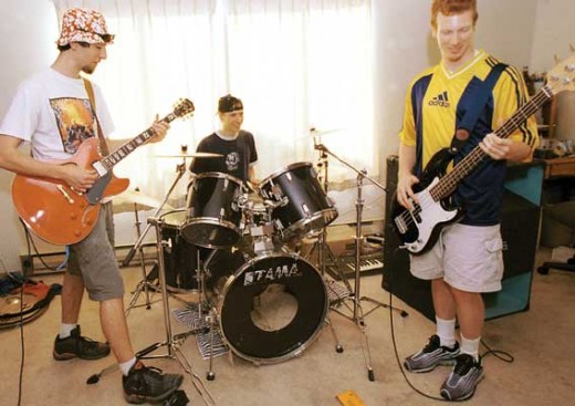 "Local Band ""One Fry Short"""