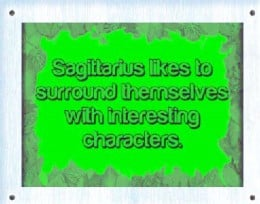 Sagittarius people are well versed in many subjects