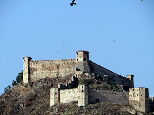 Durrani fort, Hari Parbat