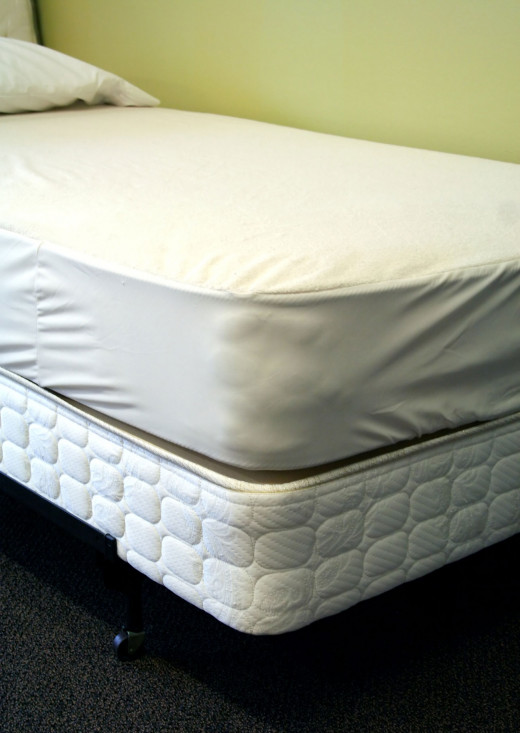 A mattress protector is essential for keeping a mattress clean - by not letting it get dirty to begin with.
