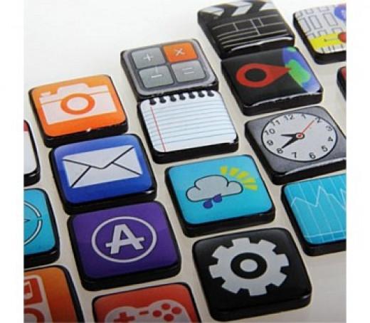 App Magnets, $22.95