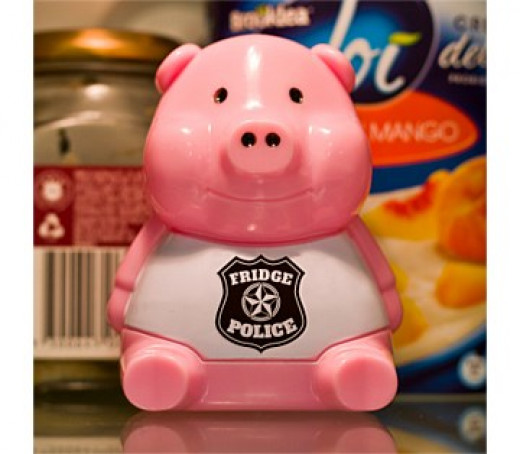 Feeling Cheeky? How about this funny Kris Kringle! Sergeant Snacks Fridge Cop, $14.95