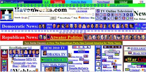 Bad Website Design : Bad Organization