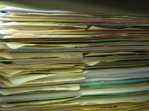 Feeling inundated with paperwork and no way to organize them?