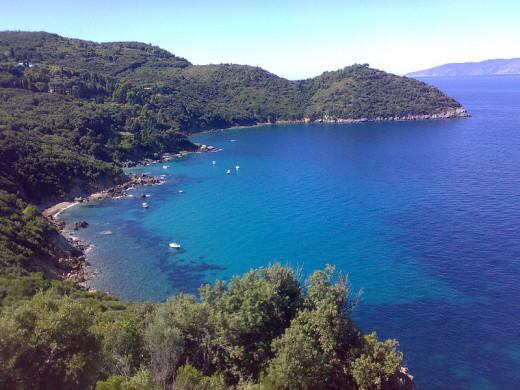 Tuscany south coast of Monte Argentario