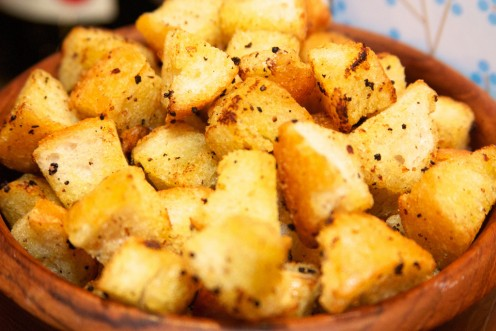The History of Croutons and How to Make Them