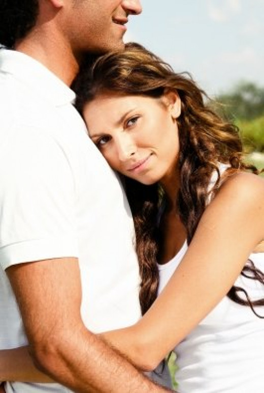 Give your girlfriend or wife a hug if she leans on to you. You will be amazed at how such a cute gesture can have a delightful effect on your relationship.
