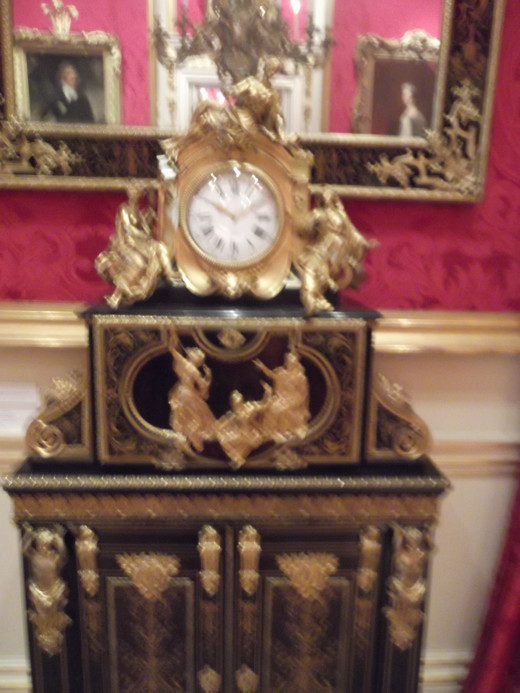 Boulle Cabinet Clock