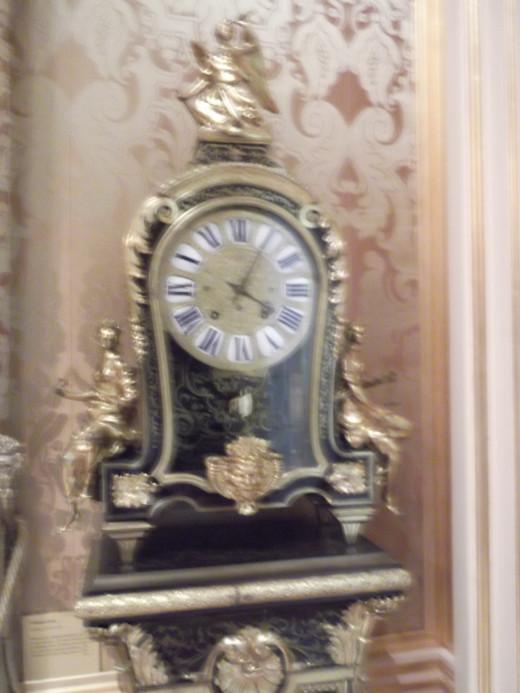 Boulle Pedestal Clock