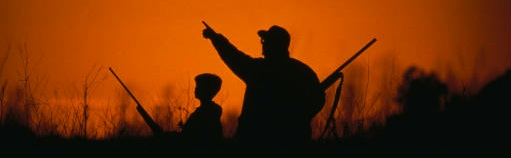 Hunting provides an opportunity to spend time outdoors with family and friends