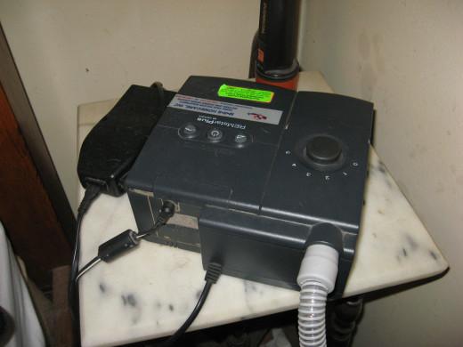 My sleep apnea machine is a Bi-PAP.