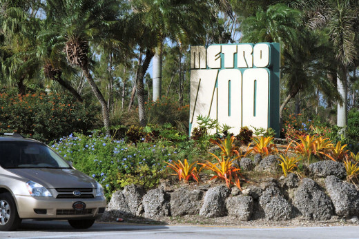 Old Entrance to the Miami Zoo