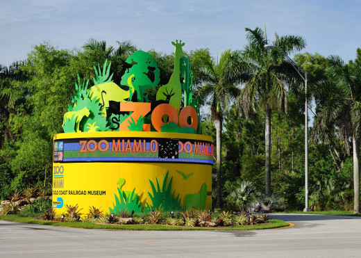 The New Entrance to the Miami Zoo