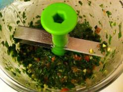 Modified Pesto - Dairy Free and Even Paleo