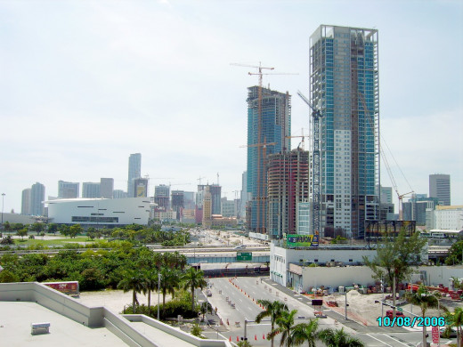 The Biscayne Wall in Downtown Miami