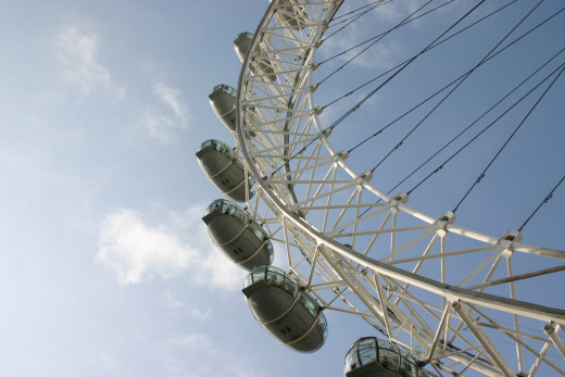 SEE THE SIGHTS FROM THE LONDON EYE