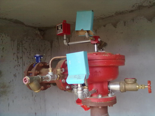 DELUGE VALVE FOR FIRE FIGHTING SYSTEM