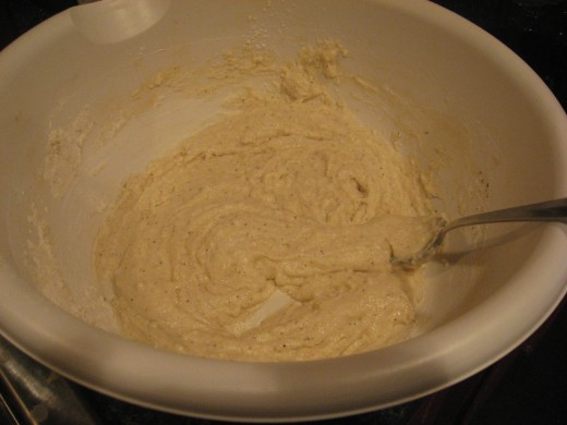 Don't mix the batter any more than you have to.