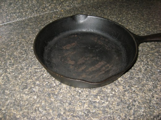 A black iron skillet is a must for crusty cornbread!