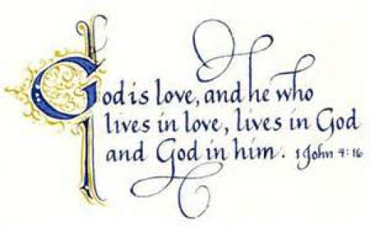 Living inside God's love, is where I want to be!