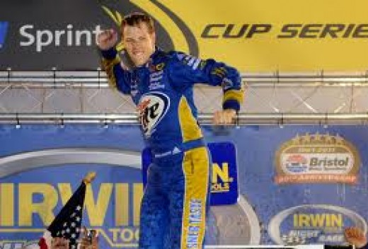 Keselowski has won before at Bristol. But he'll points racing on Saturday