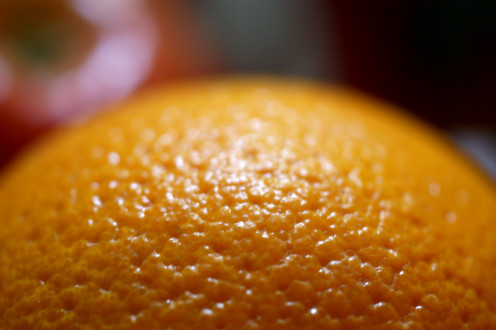 orange skin has the appearance of cellulite