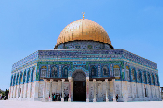 Dome of the Rock in Jerusalem is one of the places you want to plan for