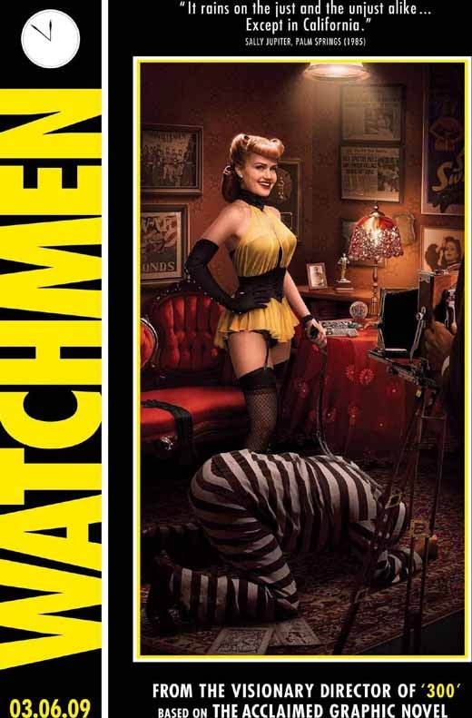 Carla Gugino in Watchmen Promo Poster