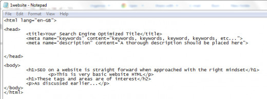 The title tag is the search engine optimized title for that page.
