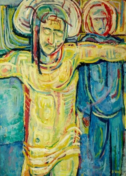 Crucifixion, Stuart Sutcliffe