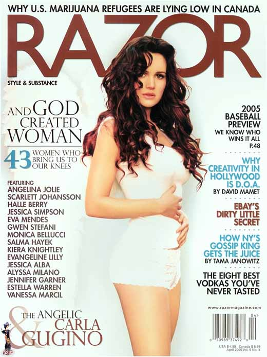 Carla Gugino from Razor Magazine