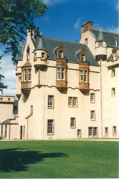 Fyvie Castle, where murder, curses and ghosts are all part of it's long history.