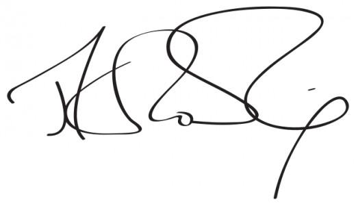 J.K. Rowling's signature