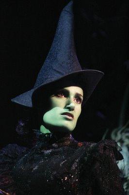 "Idina Menzel as Elphaba in ""Wicked"""