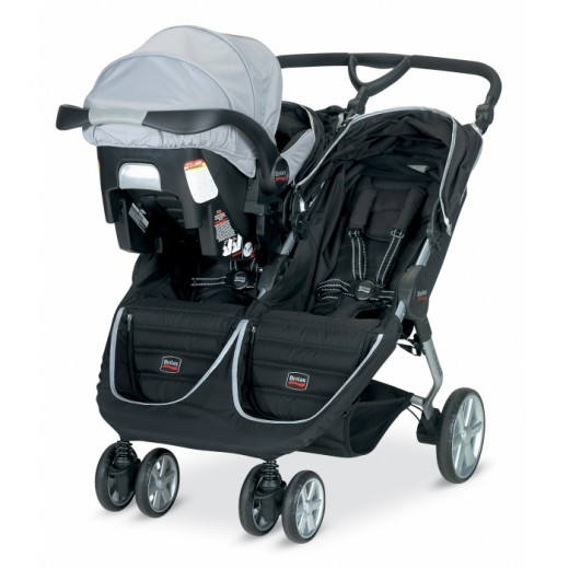 Britax B-Agile is considered to be one of the best double pram strollers on the market.
