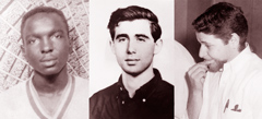 James Earl Chaney, Andrew Goodman, and Michael Henry Schwerner were murdered by Southern Klansmen in 1964 as they peacefully fought for African American voting rights.