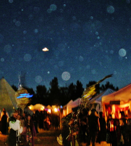 Orbs return to Eugene, Oregon.