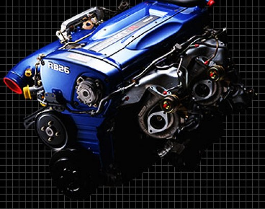 Nissan's Legendary Iron Block RB26DETT