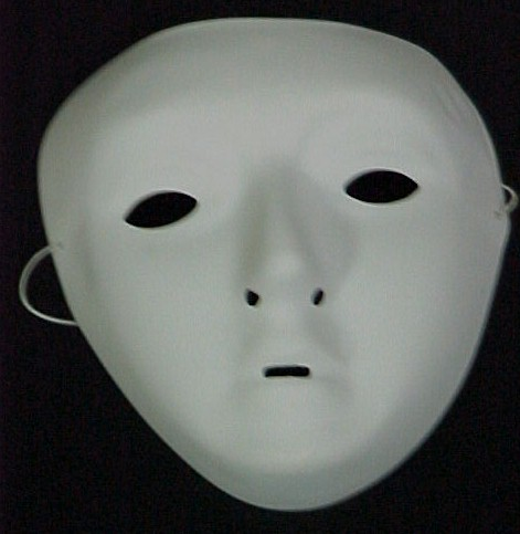 See through the mask of negativity! There's a human being underneath it.