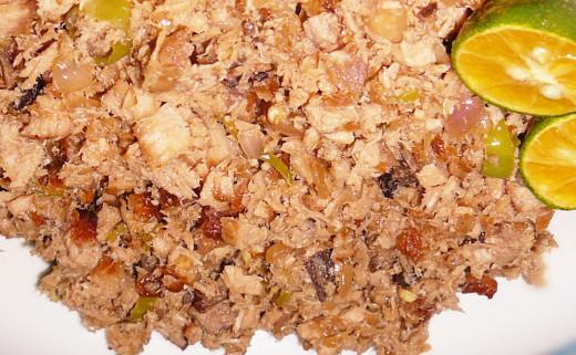 Special Tuna Sisig Recipe of Filipinos
