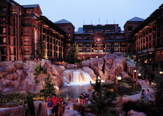 The WIlderness Lodge...beautiful!