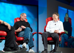 Steve Jobs and Bill Gates both dropped out of college.