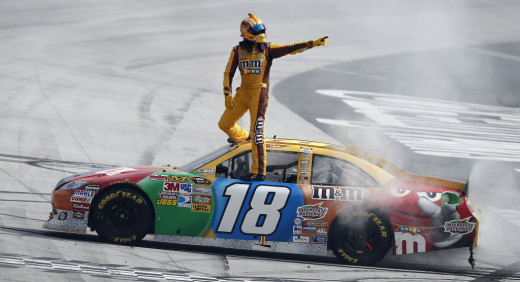 Kyle Busch has won four of the last ten Bristol races