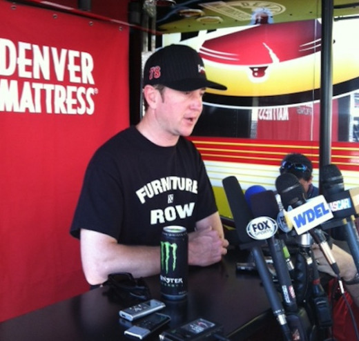 Kurt Busch comes to Bristol running the best equipment he's had at the track in years