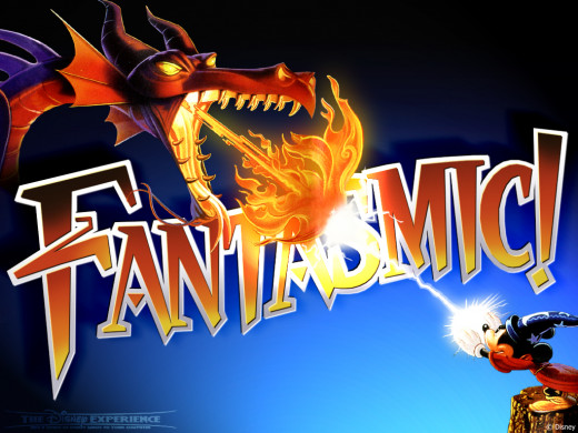 """Fantasmic!"" at Hollywood Studios"