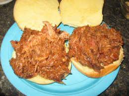Try my Slow Cooker Pulled Pork for sandwiches!